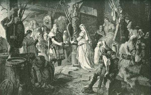 Frithiof at the Court of King Ring